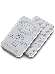 50g Fine Silver Bullion Bar ,*** NO RESERVE ***