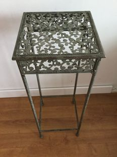 Cast iron plant table, second half 20th century, Netherlands