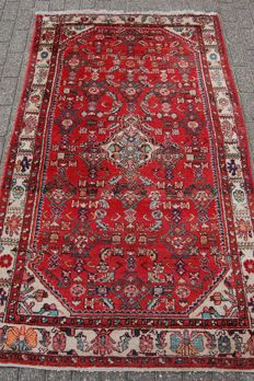 Antique Hamadan rug, 214 x 129 cm