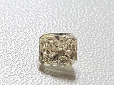 0.65 carat radiant diamond, VS1/I