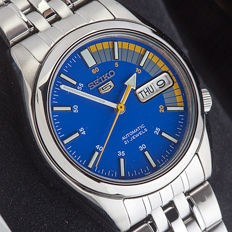 Seiko 5 automatic men's wristwatch, in mint condition.