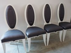 Raffagnini Design - Four designer chairs - 100% made in Italy