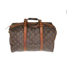 Louis Vuitton - Monogram Sac Souple 35 vintage handbag - *No Minimum Price*