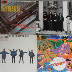 THE BEATLES 4 ALBUMS  // Help ( Stereo ) - Hey Jude - A Collection of Beatles Oldies - Please Please Me