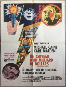 Anonymous - Un cerveau d'un milliard de dollars / Billion dollar brain (Michael Caine) - 1967