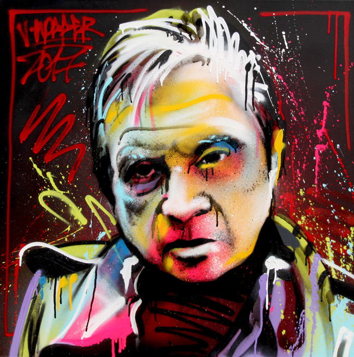 Jone Hopper - Portrait of Francis Bacon