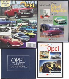 Jahrbuch 2007 Opel - Uit de Archieven van Opel - Opel Wheels to the World - Das Opel Kapitän Buch