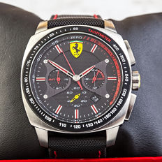 Ferrari Scuderia Aerodinamico Evo Chronograph – men's wristwatch in new condition, 2017