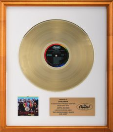 John Lennon - Gold Award - Sgt. Pepper's Lonely Hearts Blub Band