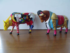 Cow parade - cow and bull