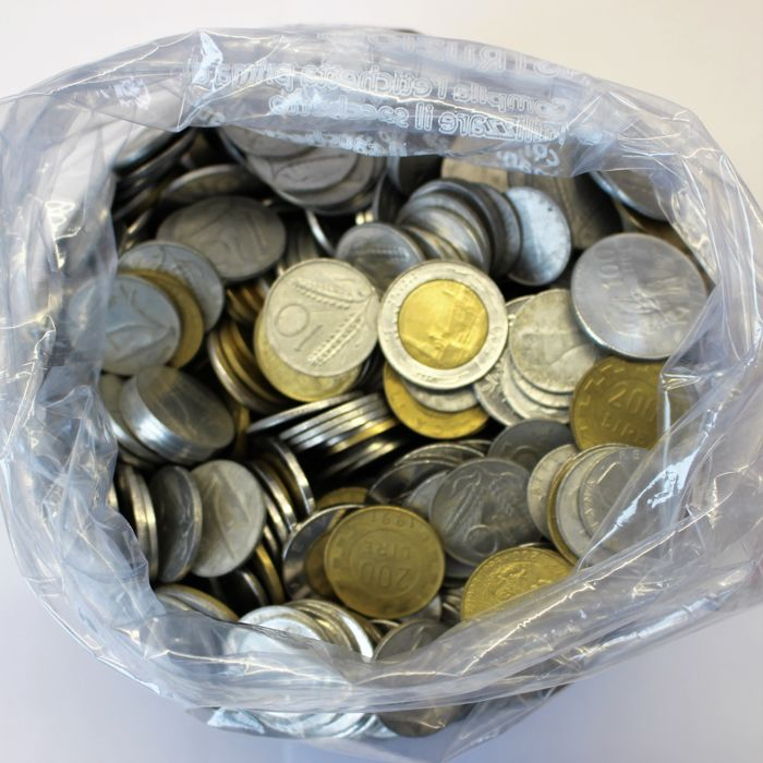 Republic of Italy - lot of over 1100 coins from 5 to 500 Lire