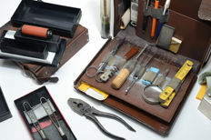 Original police forensic kit - police forensic kit - West-Germany / Cologne