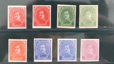 Belgium, 1915 - proofs without indication of value - Stes 2839/244