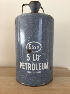 Esso - petroleum can 5 litre Dutch patent no. 69589