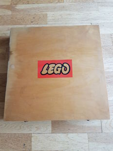Original wooden Lego box - 1950s
