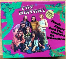 Frank Zappa & Mothers of Invention: unofficial boxset with 4 GOLD cd's containing three concerts from 1970, 1973 & 1978.