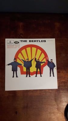 The Beatles - Help! Shell Version on Red vinyl