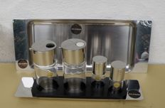 Alessi Antipasto Tray and Oil/Vinegar Set