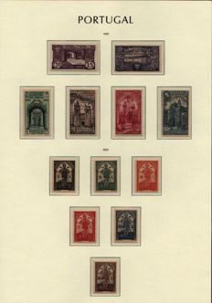 Portugal, 1931/'45 -- Selection of series on album sheets