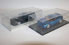 Spark - Scale 1/43 - Corvette ZR1 van 2010 & Chevrolet Corvette C7 2014