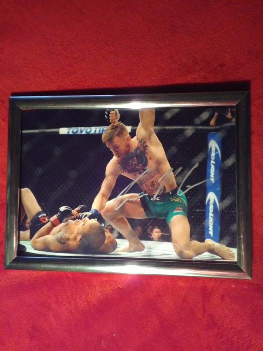 Conor McGregor Signed Photo