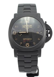 Panerai - Luminor Tuttonero 3 days GMT Limited Edition - PAM00438 - Unisex - 2011-heden