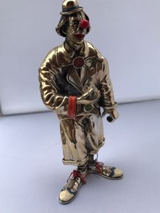 Unique solid Italian clown by the well-known designer Vittoria Angini.