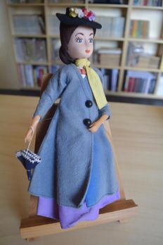 Mary Poppins cloth doll, made in Japan - J. Swedlin 1962