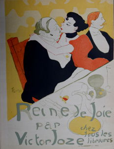 Henri de Toulouse-Lautrec (after) -  Reine de Joie