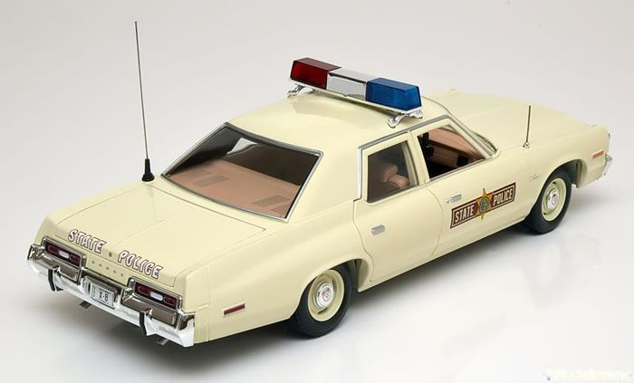 ertl autoworld scale 1 18 dodge monaco 1973 state police catawiki. Black Bedroom Furniture Sets. Home Design Ideas