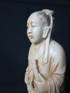 Antique ivory sculpture - China - ca. 1900