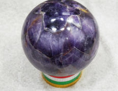 Amethyst Healing Ball - 20060 carats/ 4012 Grams - 127 mm