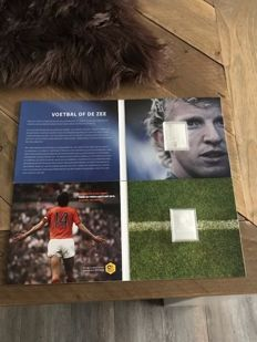 The Netherlands 2017 – Silver stamp Johan Cruijff and silver stamp Dirk Kuyt