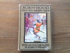 Robin Hood; Lot with 2 volumes with the adventures of Robin Hood - 1907/ca. 1936