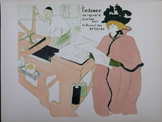 Henri de Toulouse-Lautrec (after) -  L'estampe Originale