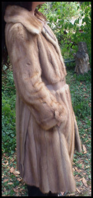 L.GOLCHSTEIN Paris mink coat