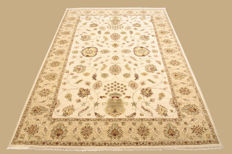 Hand-knotted Pakistan carpet, Ziegler, approx. 248 x 164 cm