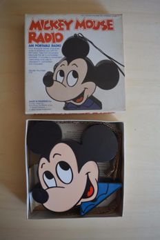 Disney, Walt - AM Portable Radio Concept 2000 - Mickey Mouse - Model no. 179 (1970s/80s)