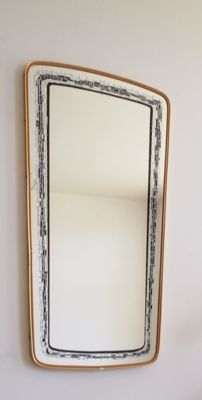 Designer unknown – very beautiful and large 1950s mirror