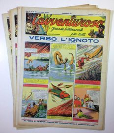 L' Avventuroso - 6x issues, no reprints (1937)