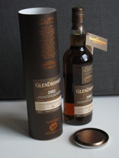 GlenDronach 2003 Single Malt Whisky - Single Cask nr. 3563 - Bottle number 372 out of 571
