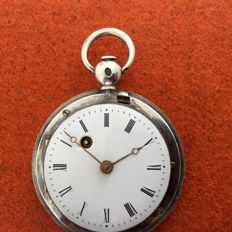 A Robert Robin, horloger du Roy, Paris - historical value pocket watch - ca 1780 - Miehet - Aiempi kuin 1850