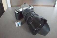Nikon F65 with Tamron lens 28/200 from  2001