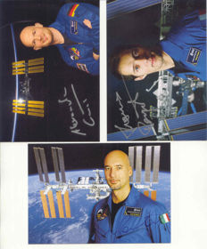 Set of 5 official signed ESA cards