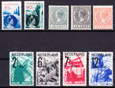 The Netherlands 1924/1932 - exhibition stamps, photomontage and ANVV