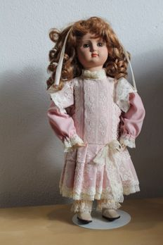 Replica porcelain biscuit doll - STE A-4 from Germany