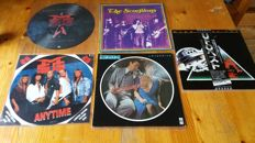 Scorpions , ufo and msg rare vinyl and picture discs