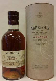 Aberlour A'Bunadh batch No.54 - single malt Scotch whisky - cask strength