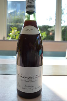 1976 Maison Leroy Chambertin Grand Cru - 1 bottle