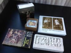 Miscellaneous; Lot with 5 erotica items - ca 1960/2000